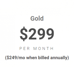 image with gold payment plan of $299