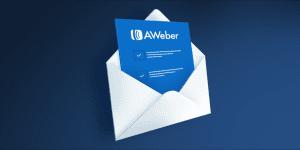 aweber logo inside an envelope