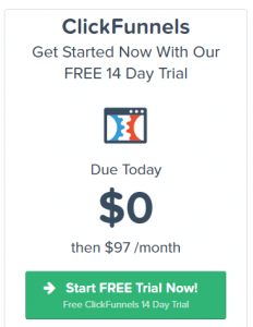 image of clickfunnels' startup plan