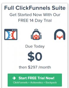 image of clickfunnels premium plan
