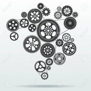 gear and cogwheel