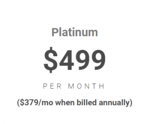 image with platinum payment plan of $499