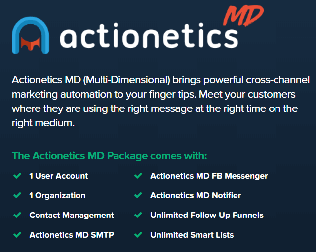 features of actionetics