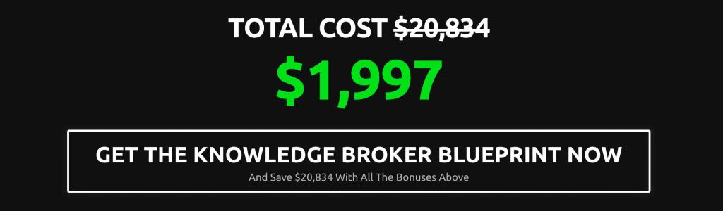 Knowledge Broker Blueprint Bonuses