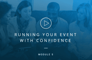 Running Your Event With Confidence