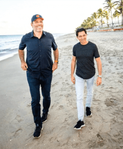 Tony Robbins and Dean Graziosi
