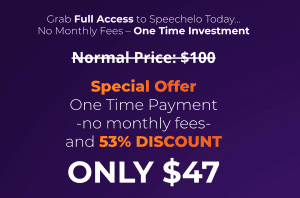 Speechelo discount