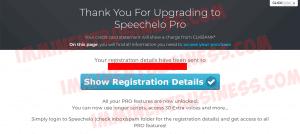 Speechelo Pro Upgrade